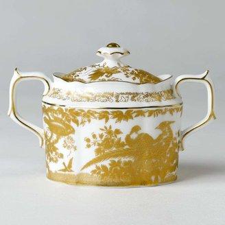 """Gold Aves"" Covered Sugar Bowl"