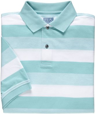 Jos. A. Bank Stays Cool Striped Pique Polo