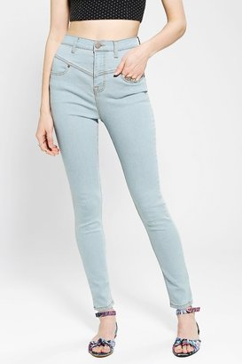 BDG Seamed High-Rise Jean - Blueberry