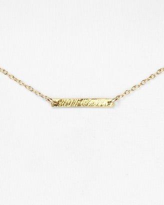 """Gorjana 18K Gold Plate Knox Necklace, 16"""""""