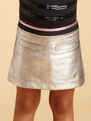 Juicy Couture Toddler's & Little Girl's Metallic Faux Leather Skirt