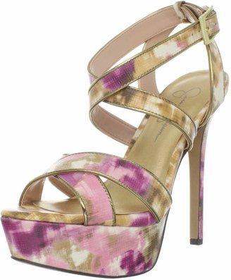 Jessica Simpson Women's Blairee2 Ankle-Strap Sandal