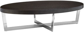 Pangea Oyster Coffee Table, Espresso