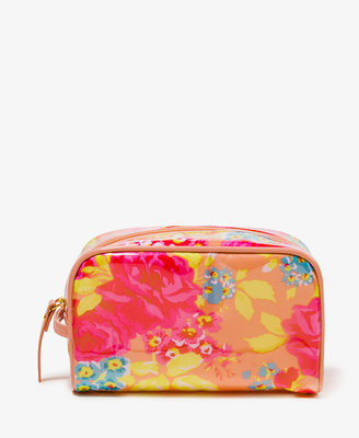 Forever 21 Floral Cosmetic Bag