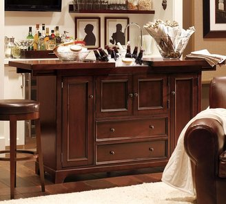 Pottery Barn Torrens Bar Cabinet