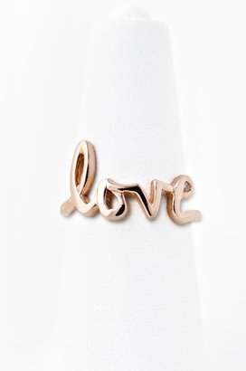 Jacquie Aiche Love Ring - 14K Gold