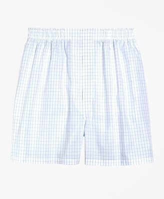 Brooks Brothers Slim Fit Windowpane Boxers