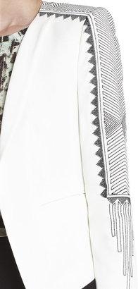BCBGMAXAZRIA Bowie Embroidered Jacket