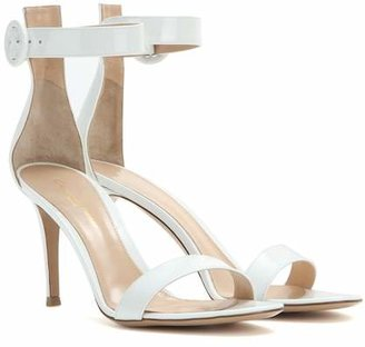 Gianvito Rossi Exclusive to Mytheresa – Portofino patent leather sandals