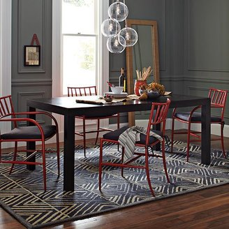 west elm Parsons Rectangular Dining Table - Chocolate