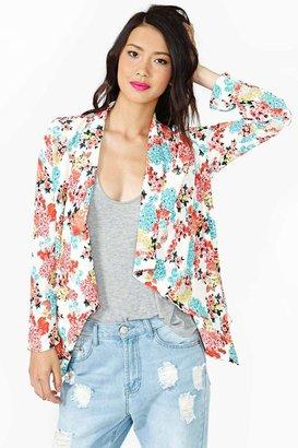 Nasty Gal Hot Bloom Jacket