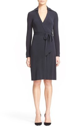 Diane von Furstenberg 'New Jeanne Two' Jersey Wrap Dress $368 thestylecure.com