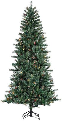 Dunhill Sterling 7-Ft. Pine Pre-Lit Artificial Christmas Tree