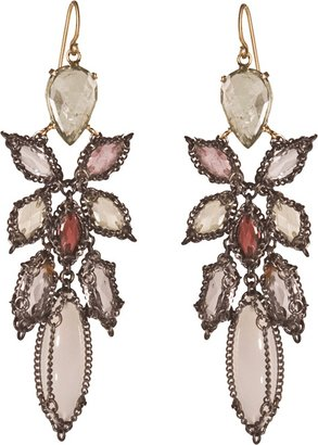 NAK ARMSTRONG Stained Glass Chandelier Earrings