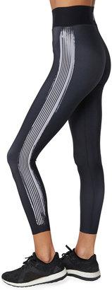 ULTRACOR 6 Stripe Brush Stroke High-Waist Leggings