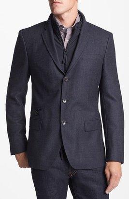 HUGO BOSS 'Hardin' Three Button Wool Sportcoat