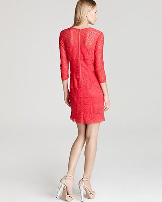 Laundry by Shelli Segal Dress - Tiered Lace