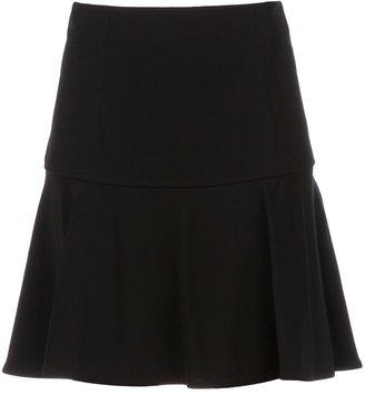 Balenciaga pleated high waist skirt