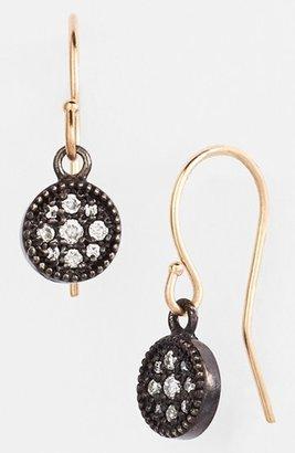 Mizuki 'Evil Eye' Diamond Drop Earrings
