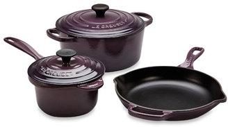 Le Creuset MS 12051-72 Signature Cast Iron 5-Piece Cookware Set