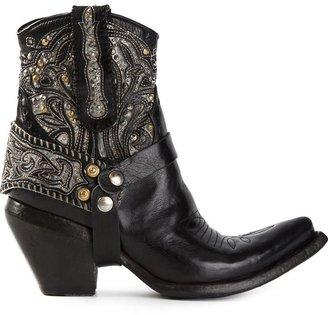 Damy embellished cowboy boots