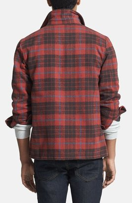 Obey 'Outbound' Plaid Flannel Jacket