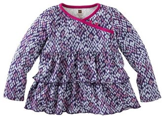 Tea Collection Floral Tiered Ruffle Top (Toddler Girls, Little Girls & Big Girls)