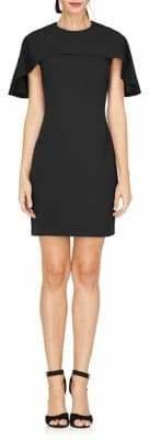 Adelyn Rae Cape Sheath Dress