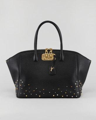 VBH Brera Studded Satchel Bag