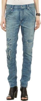 R 13 Distressed Carpenter Jeans