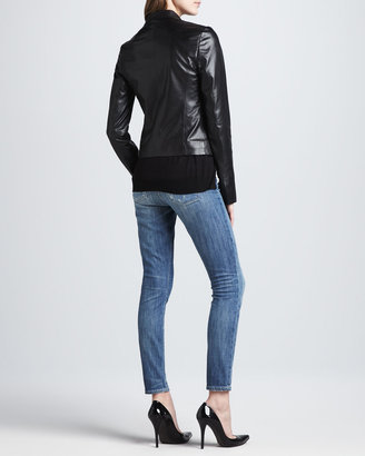 Vince Distressed Skinny Ankle Jeans