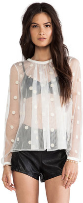 Sass & Bide The Bloom Room Blouse
