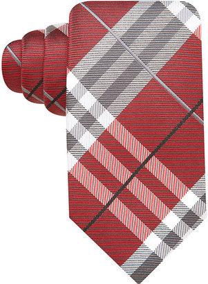 Geoffrey Beene Pierre Plaid Tie