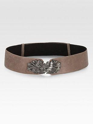 Raina Adjustable Leather Belt