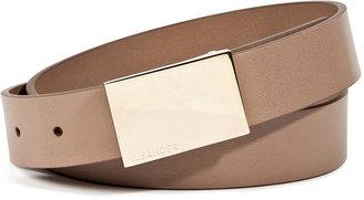 Jil Sander Leather Belt in Sand