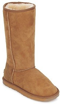 Just Sheepskin TALL CLASSIC women's High Boots in Brown