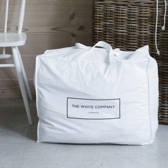 The White Company Cotton Small Storage Bag, White, One Size