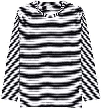 NN07 Kurt Striped Cotton-blend Top