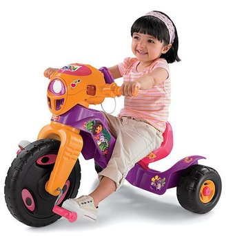 Fisher-Price dora the explorer lights & sounds trike