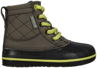 Crocs AllCast Leather Duck Boot GS