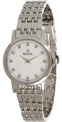Bulova Ladies Diamond - 96P135 (White) - Jewelry