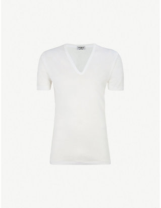 5bddba7ca9f5 Mens Deep V Neck Undershirt - ShopStyle UK