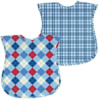 I play. Green Sprouts by i play. 2-pk. Argyle & Plaid Waterproof Bibs - Baby $22 thestylecure.com