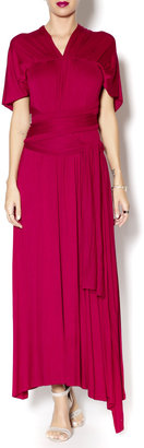 Va Va Voom Maxi Wrap Dress $79 thestylecure.com