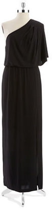 Jessica Simpson One Shoulder Maxi Dress
