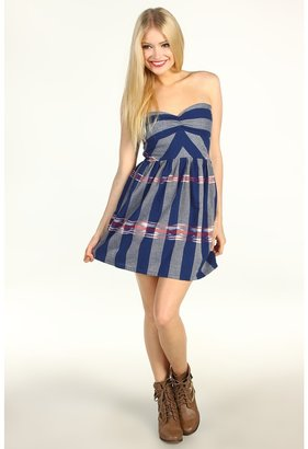 Roxy Fall Doll Dress (Juniors) (Open Ocean Border) - Apparel