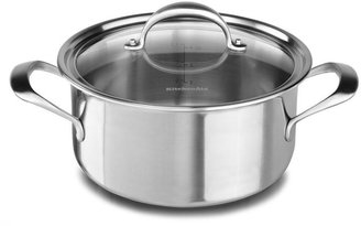 KitchenAid 6-qt. Stainless Steel Copper Core Casserole with Lid
