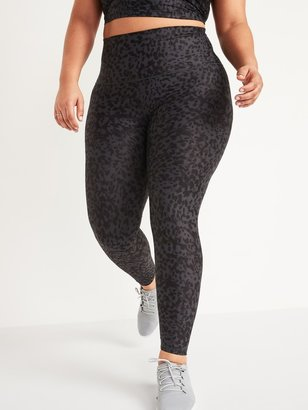 Old Navy Extra High-Waisted Powersoft Light Compression Hidden-Pocket Plus-Size Leggings