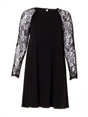 AX Paris Lace sleeve swing dress