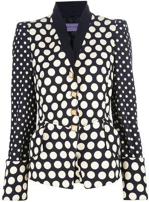 Ungaro polka dot jacket